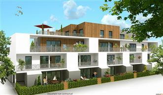 LA TURBALLE PROXIMITE IMMEDIATE PLAGE - Appartement neuf 2 chambres de plain pied à vendre