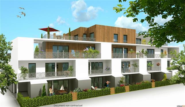 LA TURBALLE PROXIMITE IMMEDIATE PLAGE - Appartement neuf 2 chambres de plain pied � vendre