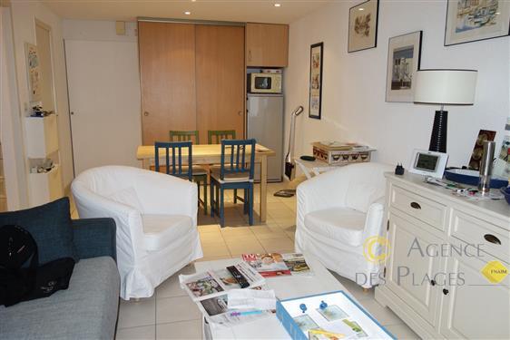 LA TURBALLE VUE MER - Appartement de plain pied, une chambre - Plage, port et centre-ville � pied