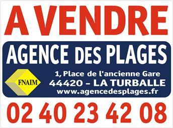 LA TURBALLE CENTRE-VILLE A PIED - Petit terrain constructible à vendre - La Plage à pied