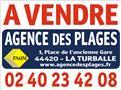 LA TURBALLE CENTRE-VILLE - Terrain constructible à vendre - Proche plage