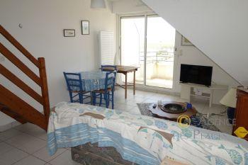 LA TURBALLE FACE MER - Appartement en duplex T2 bis à vendre - Proximité immédiate plage