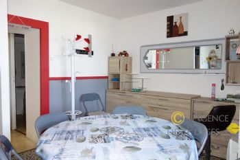 LA TURBALLE FACE PORT - Appartement T1 bis à vendre - Port, plage et commerces à pied