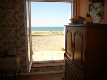 Vue vue 2 - LA TURBALLE appartement face mer accès plage direct - Location saisonnière