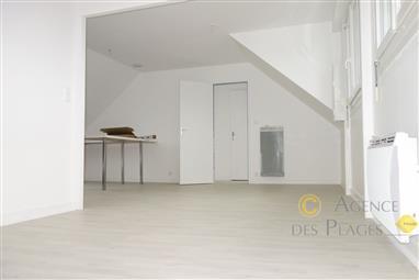 LA TURBALLE - Appartement  rénové, 2 chambres, à louer vide à l'année