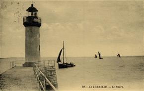 Le Phare du port de La Turballe