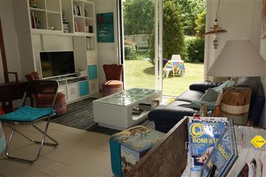 PIRIAC SUR MER - Appartement en RdeC de maison, 3 chambres et jardin - location de vacances - Location sisonnière