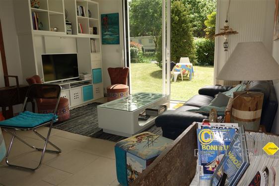 PIRIAC SUR MER - Appartement en RdeC de maison, 3 chambres et jardin - location de vacances - Location sisonni�re